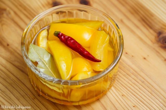 黃パプリカのピクルス