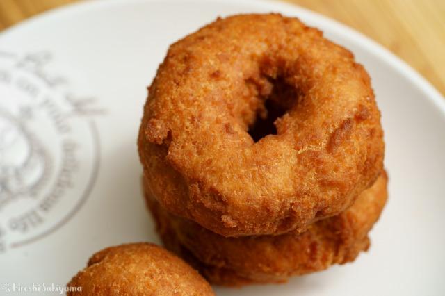 アレルギー対応】おからドーナツ【卵・牛乳・小麦粉・バター不使用】、リング状にして揚げたもの