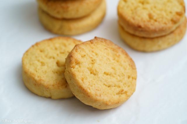 生おからで作るソフトなクッキーのアップ
