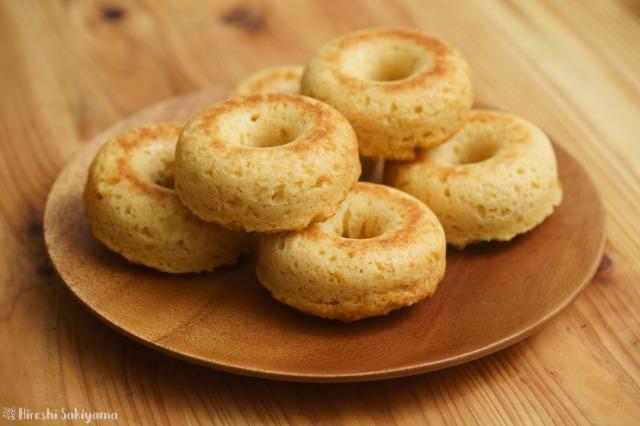 生おからで作る焼きドーナツ