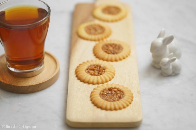 キャラメルナッツのロミアスクッキー