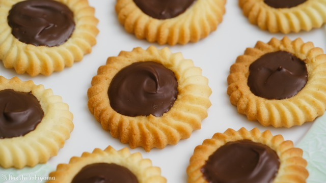 チョコレートのロミアスクッキー