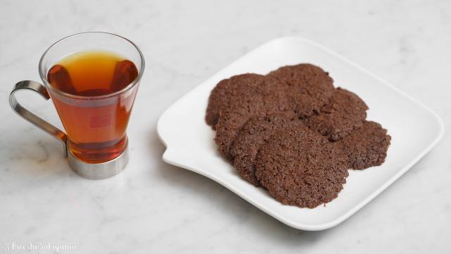 ココナッツオイルで作るココアクッキー