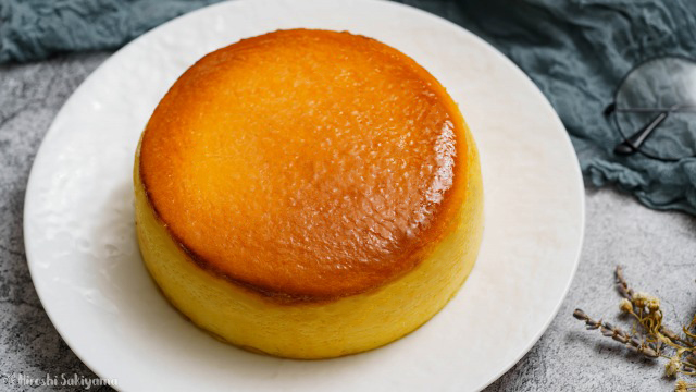 割れない&シワにならない(なりにくい)スフレチーズケーキ