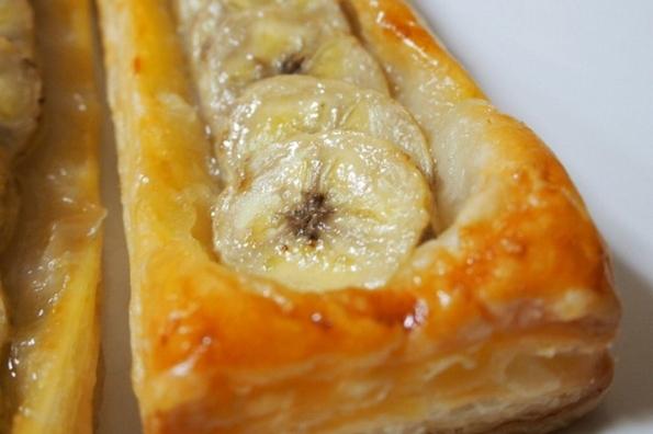 冷凍パイシートで作るバナナパイ