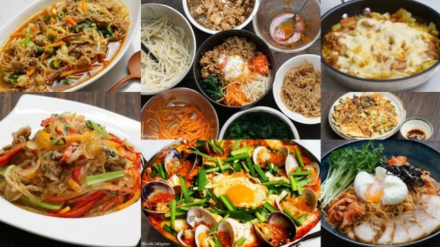 韓国料理のレシピまとめ