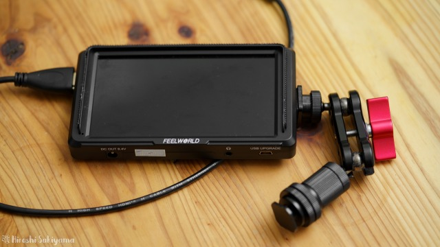 Feelworld F5 カメラモニター
