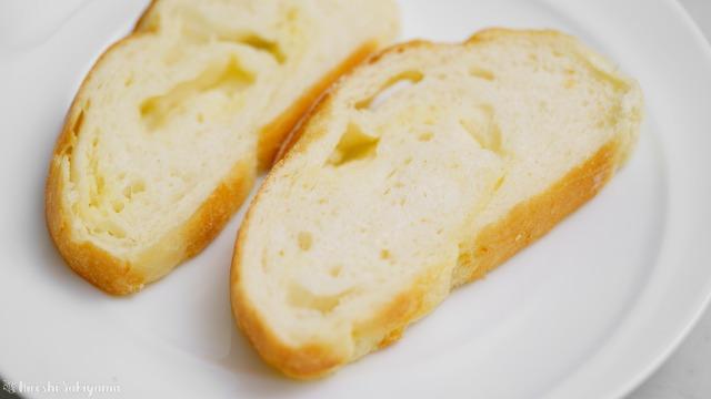 トーストパンの断面