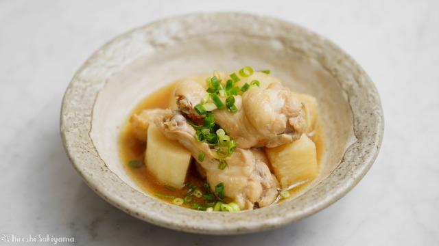 長芋と手羽元の中華風煮物