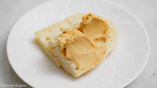 パンにつけるきなこクリームチーズ
