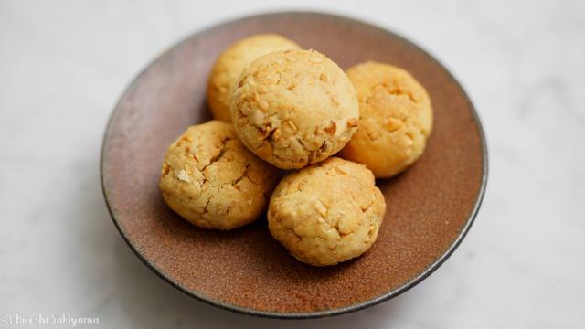 福豆のボールクッキー