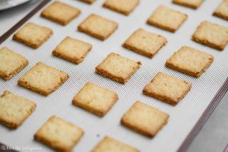 福豆クッキー焼き上がり