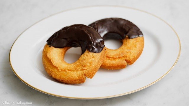 チョコオールドファッションドーナツ