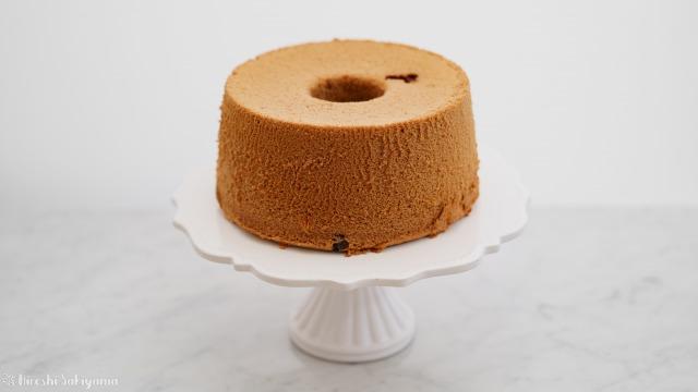 米粉チョコシフォンケーキ