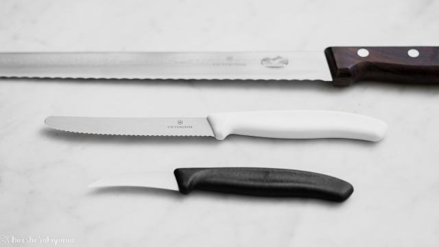 ビクトリノックス(VICTORINOX)のナイフ3種
