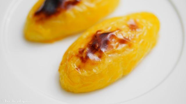 【卵黄なし】濃厚美味しいスイートポテト、定番の形