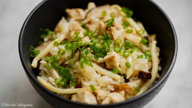 台湾風炊き込みご飯、アップ