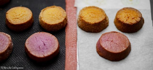 ディアマンのシルパンとオーブン用シートの比較