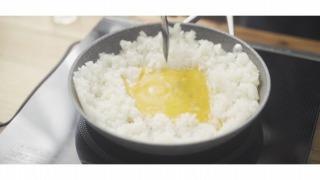 卵を加える