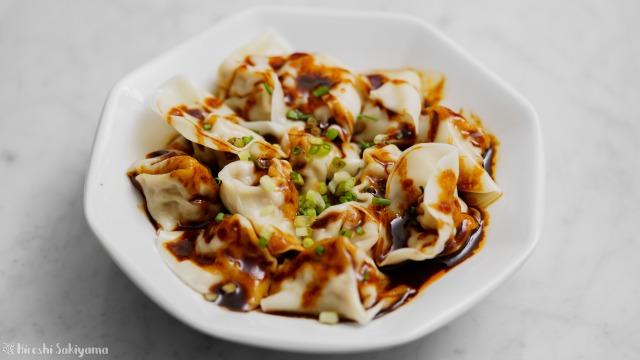 甜麺醤ラー油ダレワンタン