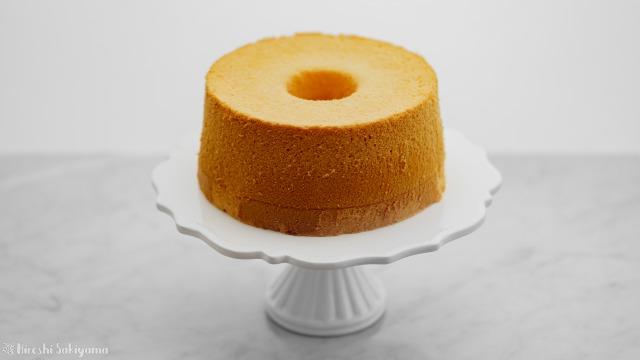 基本のシフォンケーキ