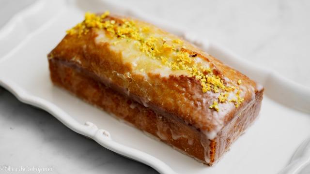 レモンとピスタチオのパウンドケーキ