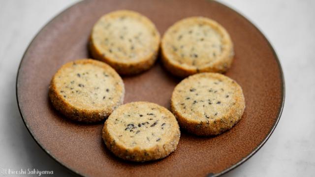 黒ごまディアマンクッキー
