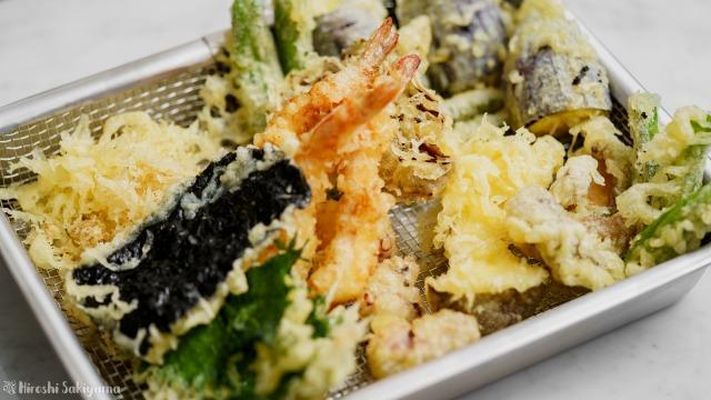 揚げた天ぷら