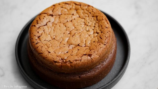 チョコスフレチーズケーキ