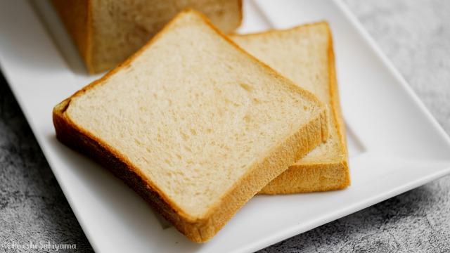 ほんのり黒糖食パン、カットアップ