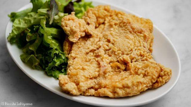 【台湾風唐揚げ】鶏排(ジーパイ)、大鶏排(ダージーパイ)