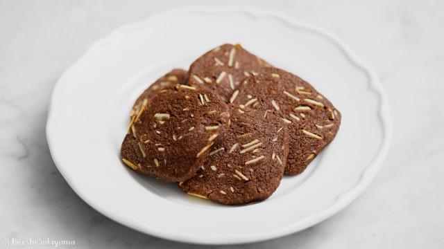 アーモンドチョコクッキー、サブレショコラダマンド