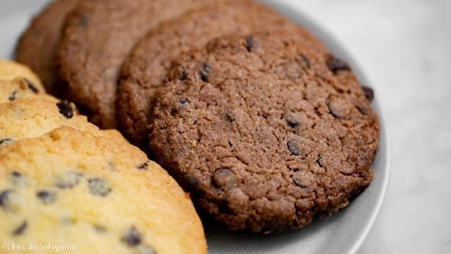 チョコチップドロップクッキー、ココア