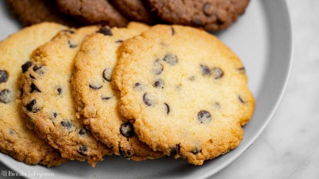 チョコチップドロップクッキー、プレーン