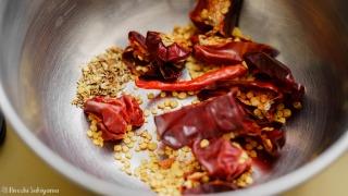 唐辛子と花椒