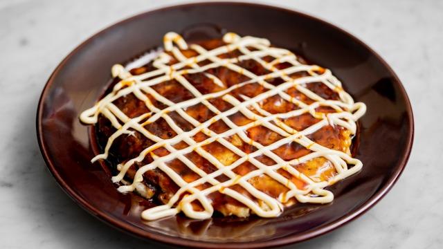 白菜の中華風お好み焼き