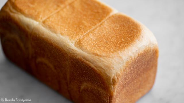 角食パン(ストレート法)、アップ