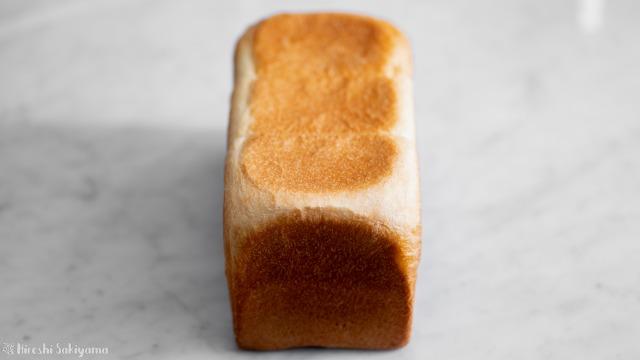 角食パン(ストレート法)、正面から