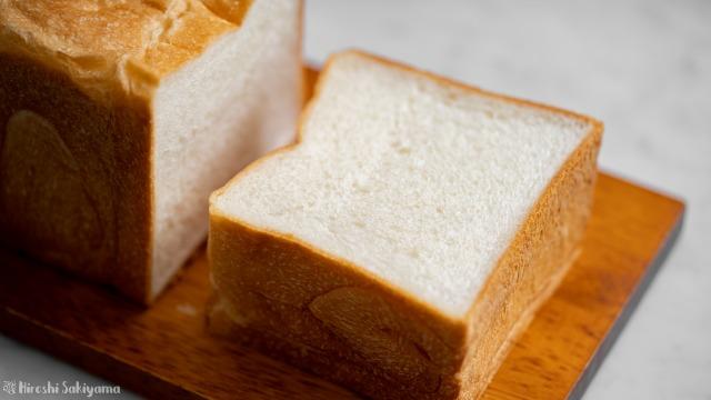 角食パン(ストレート法)、スライス