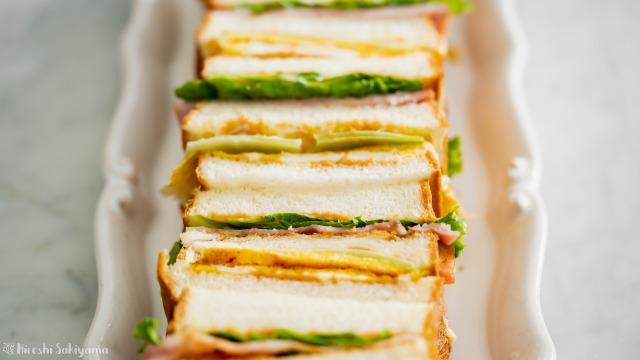 台湾サンドイッチ(三明治サンミンヂー)、アップ