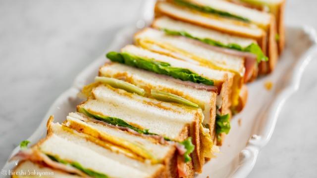 台湾サンドイッチ(三明治サンミンヂー)