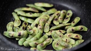 枝豆を焼く