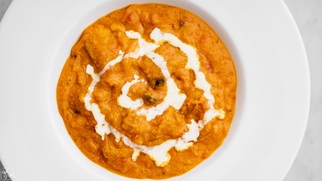 バターチキンかぼちゃカレー