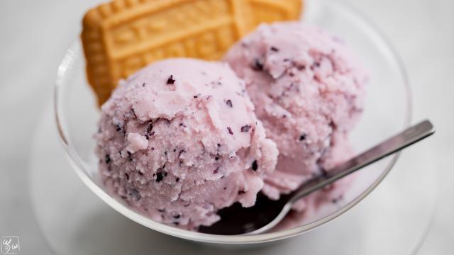 【アイスクリームメーカー】巨峰とヨーグルトのアイス