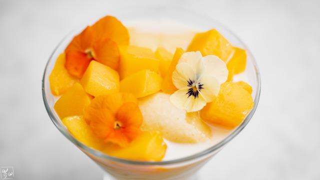マンゴー豆花(トウファ)