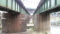 [紫川橋梁][紫川][小倉北区][北九州][日豊本線]2010.01.11