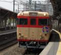 [折尾駅][キハ65][リバイバル急行]ひかり折尾駅2010.04.18