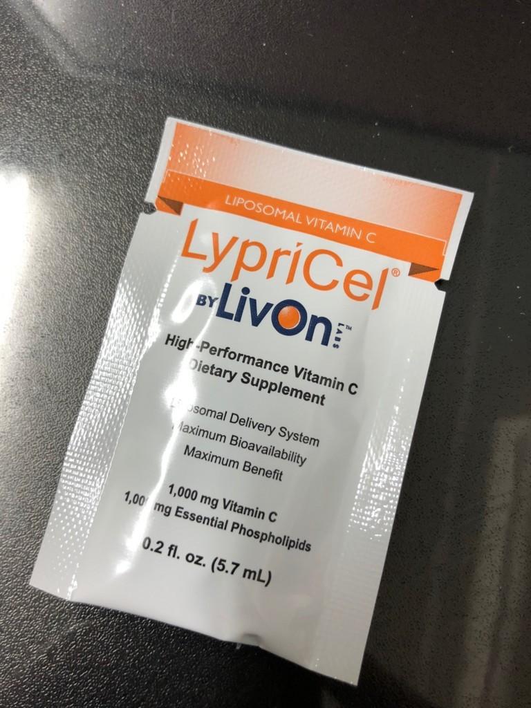 LypriCel VitaminC 1,000mg LIPOSOMAL VITAMIN C リプライセル