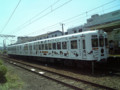 たま電車、和歌山駅に停車中