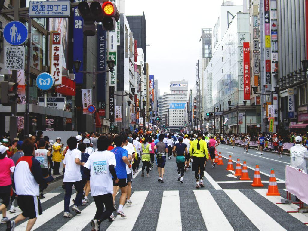 [東京マラソン]
